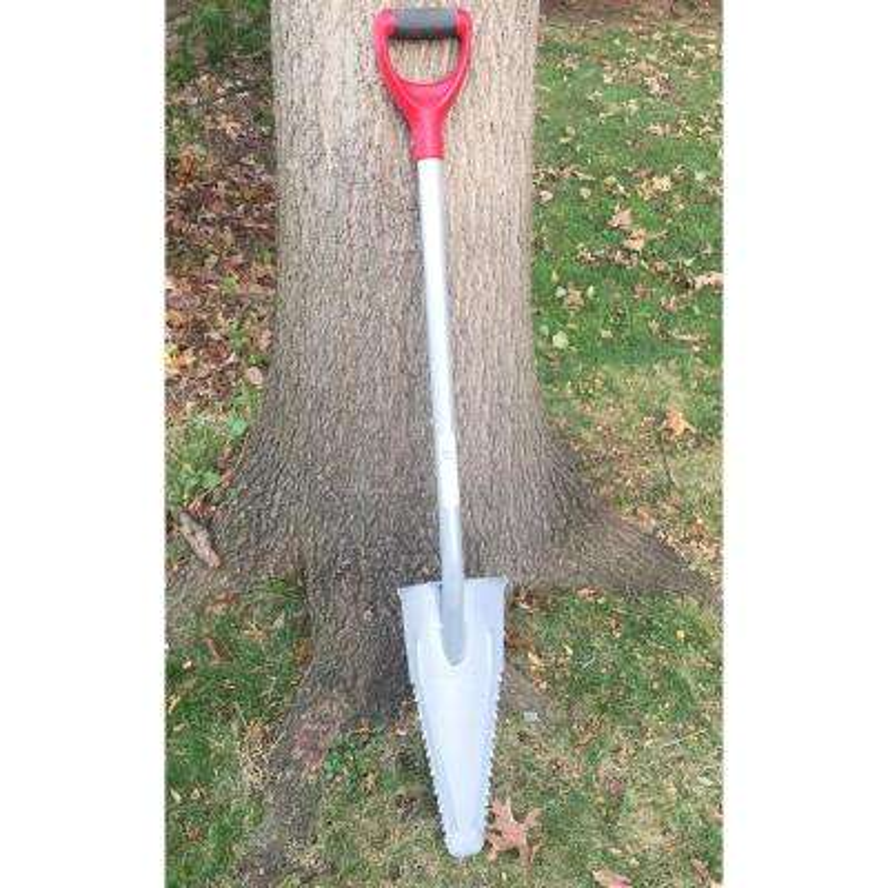 48 in. 4 lb. Steel Root Shovel Garden Tool