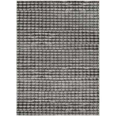Amadeo Light Gray 5 ft. x 7 ft. Indoor Area Rug