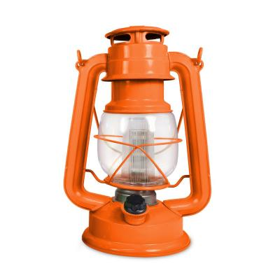 Tropical Collection Wild Tangerine LED Vintage Lantern