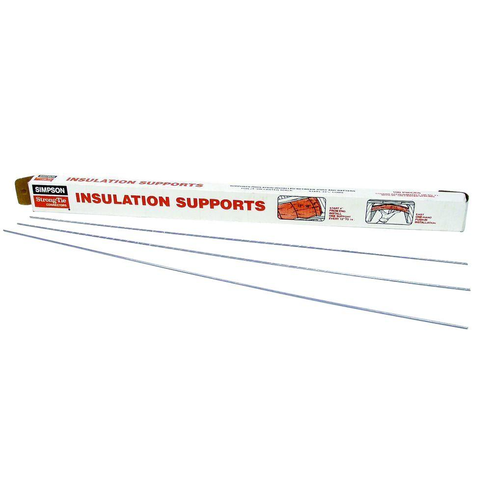 Simpson Strong Tie 24 In Insulation Support 100 Qty