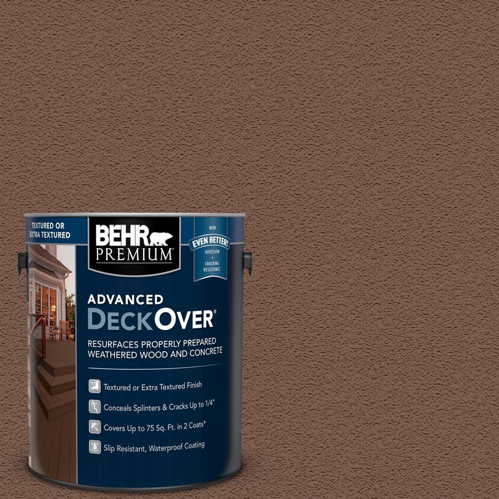 Behr premium deckover 1 gal sc 123 valise textured solid - Exterior textured paint home depot ...