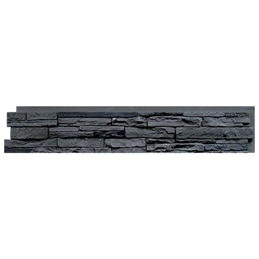 NextStone Slatestone Rocky Mountain Graphite 8.25 in. x 4...