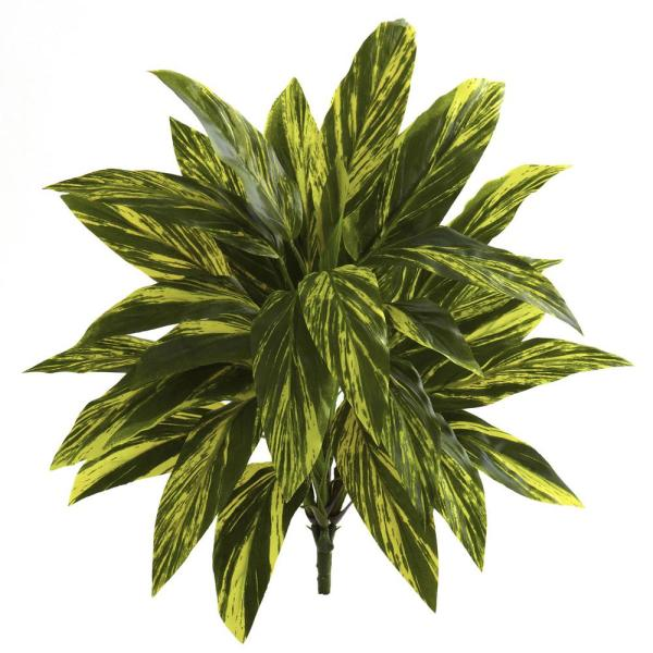 Indoor 19 in. Tradescantia Artificial Plant Real Touch (6-Set)