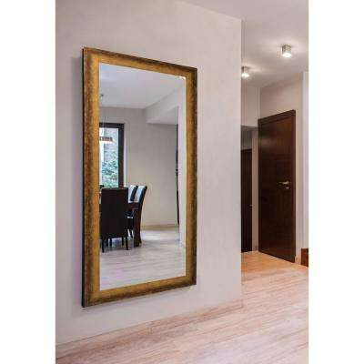 64 in. x 35 in. Extra Large Tarnished Bronze Vanity Mirror