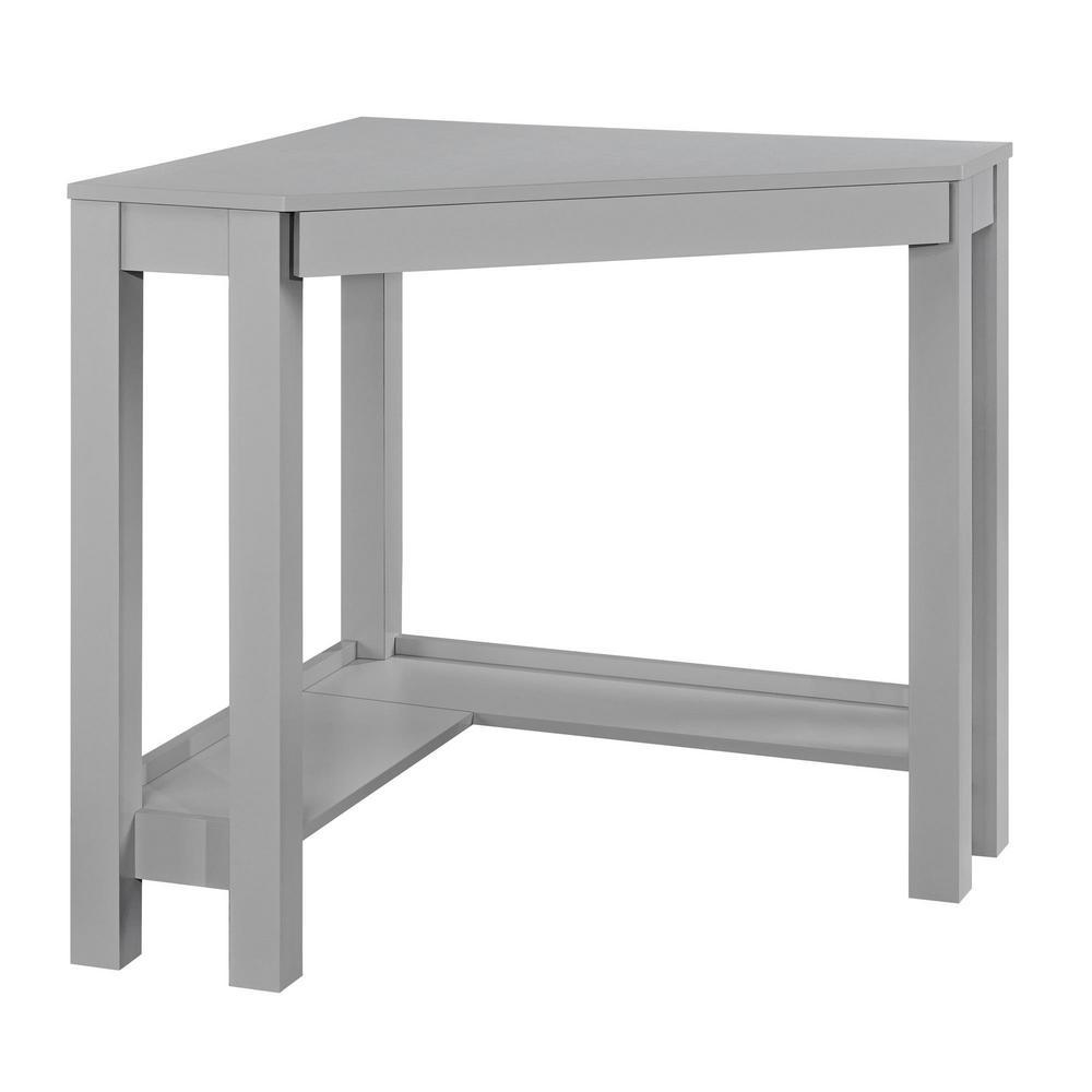 Nelson Gray Corner Desk