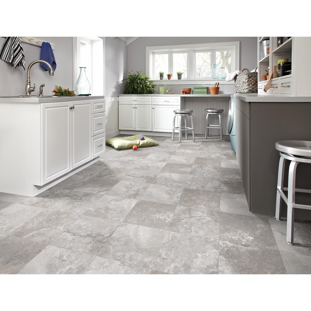 Trafficmaster Travertine Grey