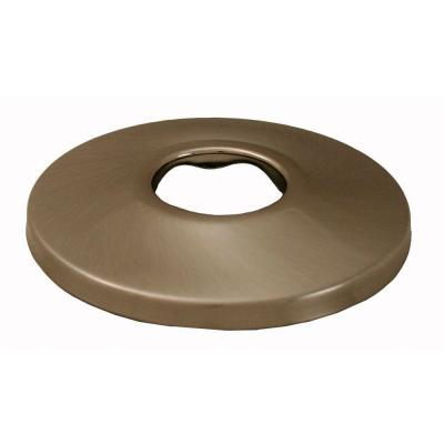 2-1/2 in. O.D. Low Pattern Escutcheon for 1/2 in. Iron Pipe in Brushed Nickel