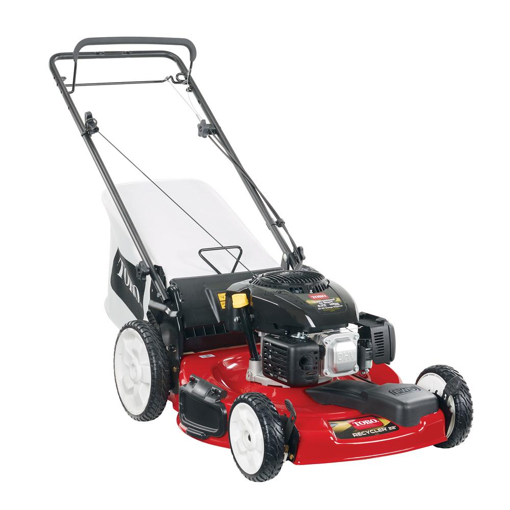 Toro 22 in  Kohler High Wheel Variable Speed Gas Walk Behind Self Propelled  Lawn Mower