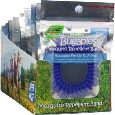 Bugables Mosquito Repellent Coilbands - Assorted Colors (24-Pack per Case)