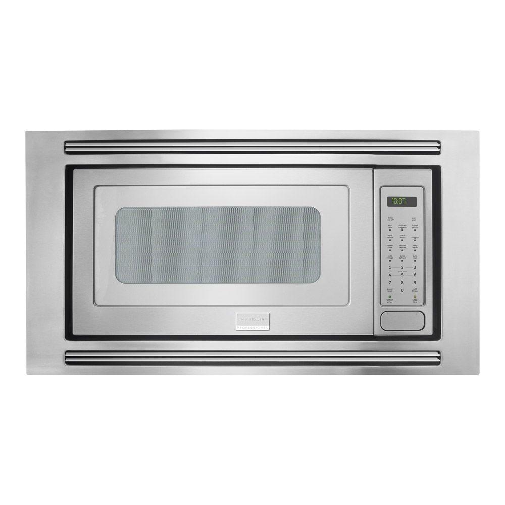 Frigidaire Professional 24 in. W 2.0 cu. ft. Built-in Microwave in Stainless Steel with Sensor Cooking
