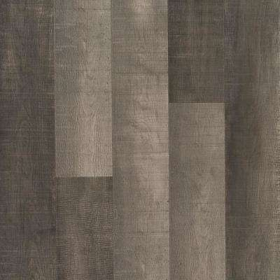 Outlast+ Standout Grey Oak Laminate Flooring- 5 in. x 7 in. Take Home Sample