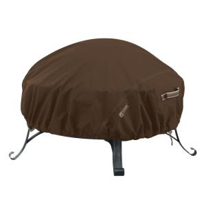 Madrona RainProof 52 in. L x 52 in. W Round Fire Pit Cover
