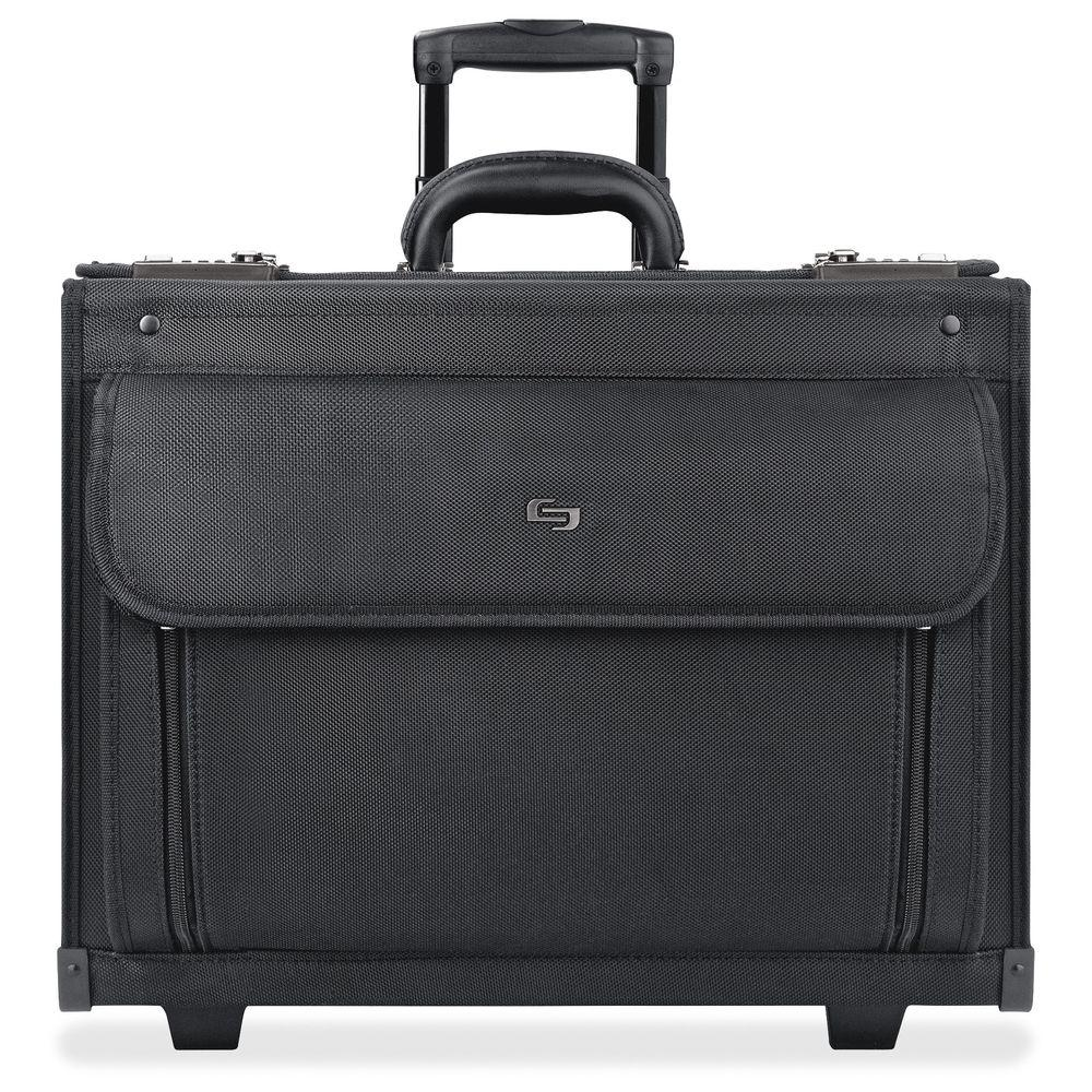 17 in. Classic Black Ballistic Poly Notebook Roller Carry...