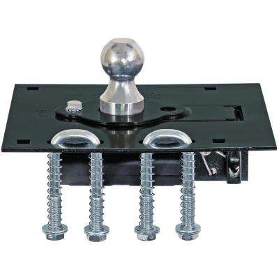 2-5/16 in. Gooseneck Retractable Ball Hitch with U-Bolt Kit