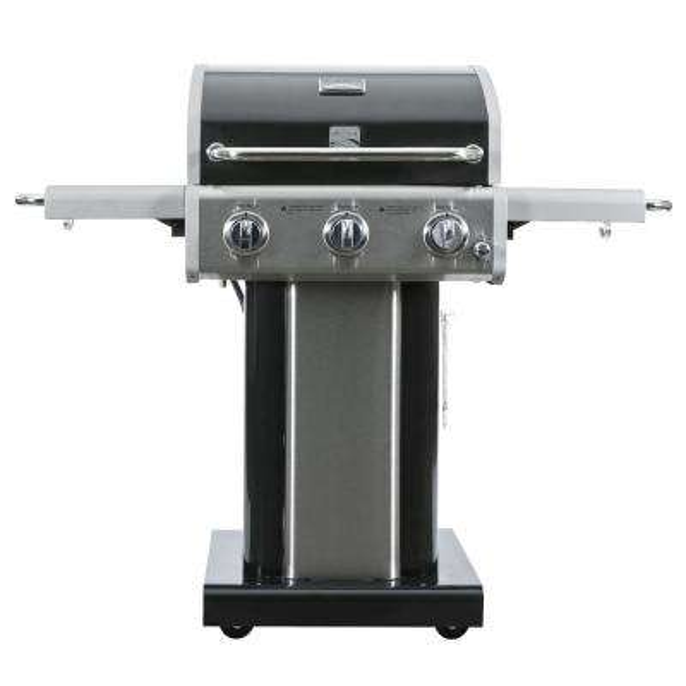 Kenmore 3-Burner Pedestal Grill in Black