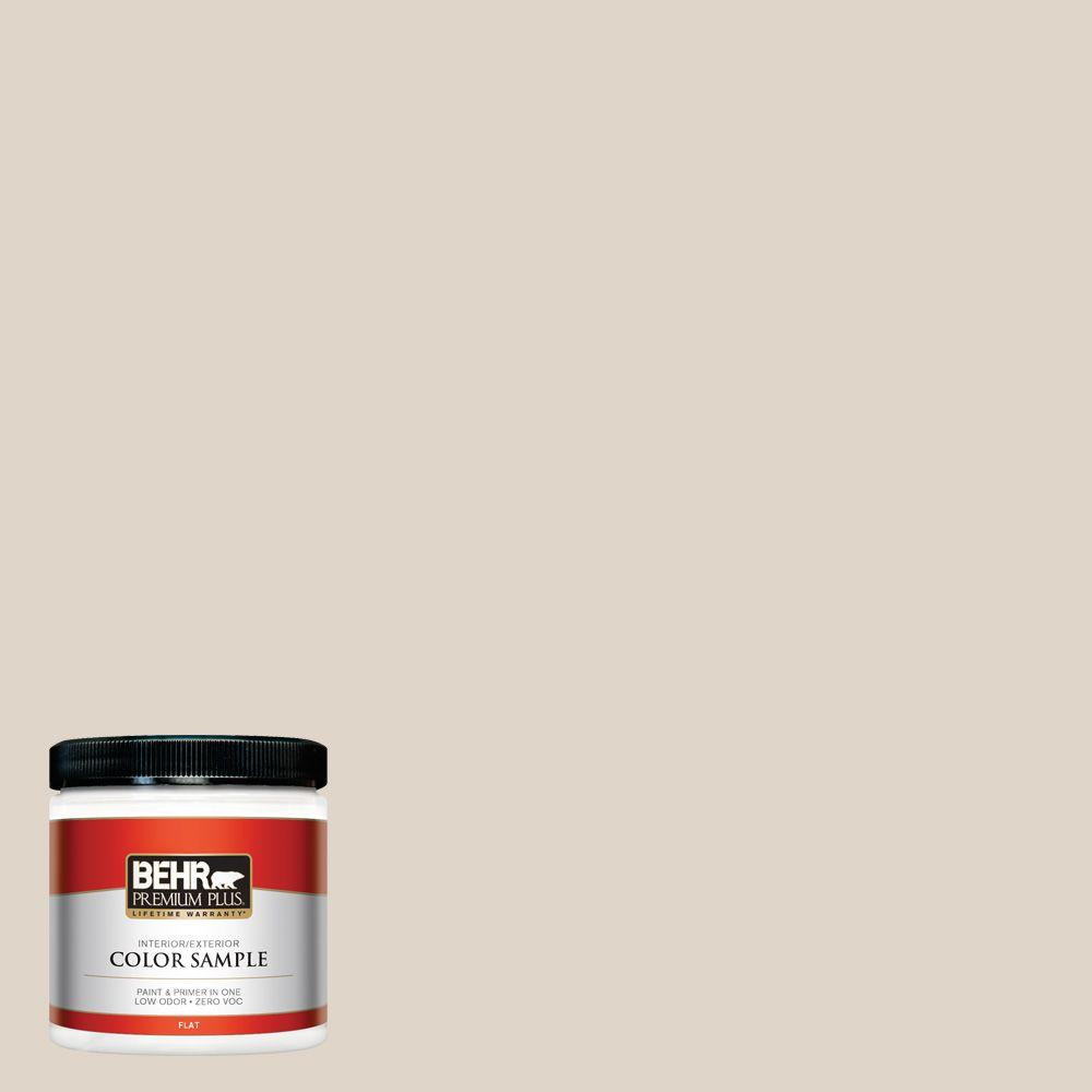 BEHR Premium Plus 8 oz. #ECC-43-1 Sonoran Sands Interior/Exterior Paint Sample