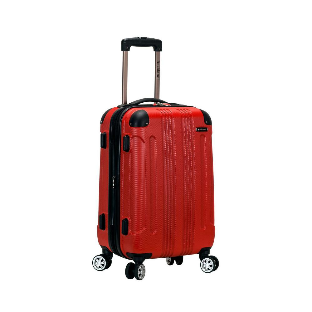 F1901 Expandable Sonic 20 in. Hardside Spinner Carry On Luggage, Red