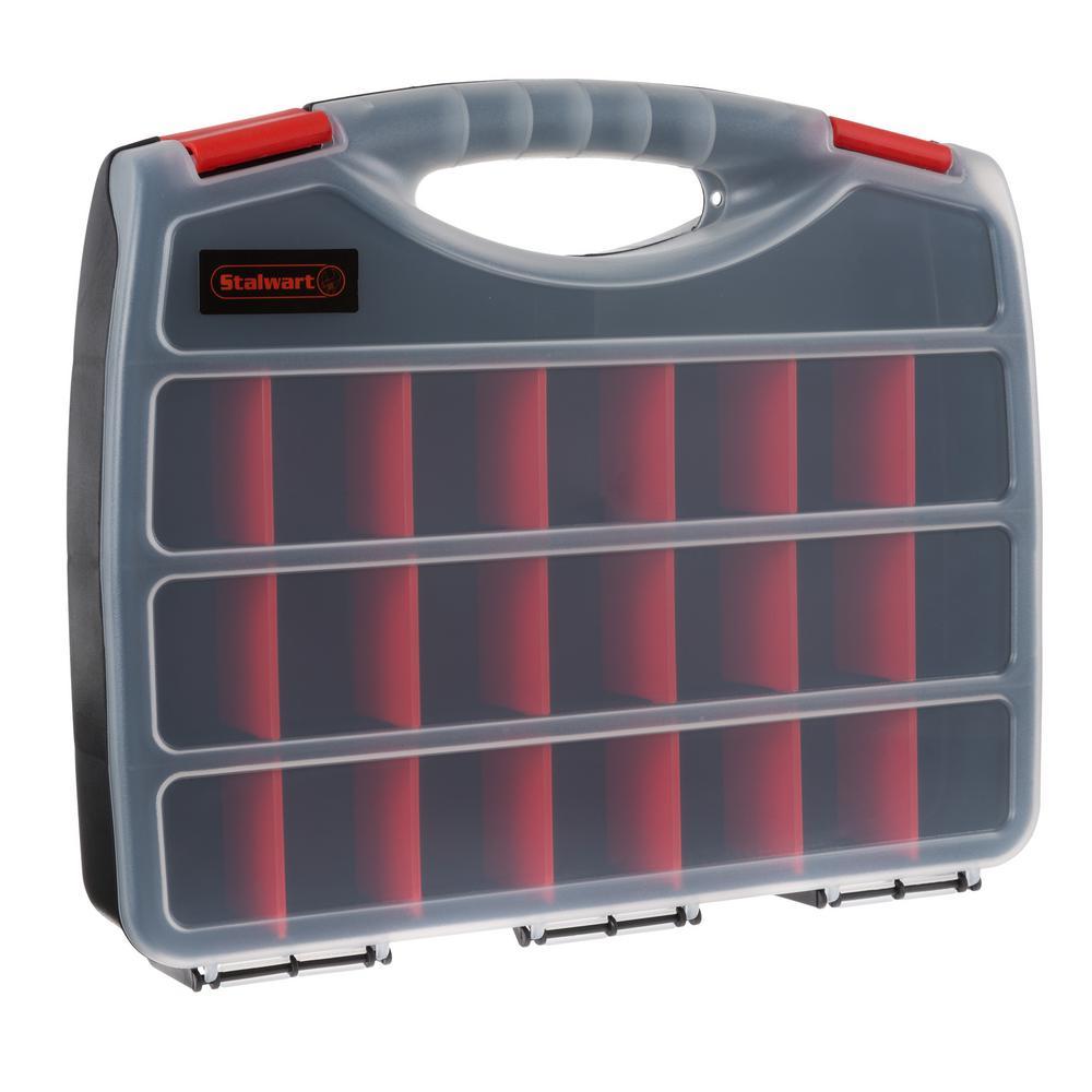 23-Compartment Portable Small Parts Organizer