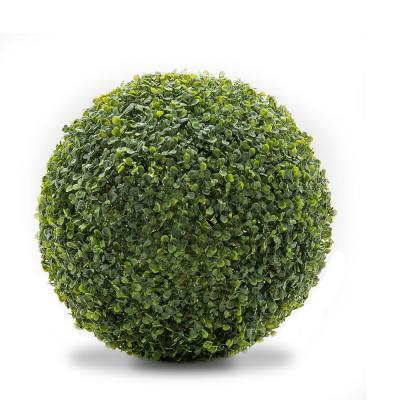 11 in. Boxwood Indoor/Outdoor Foliage Balls (2-Pack)