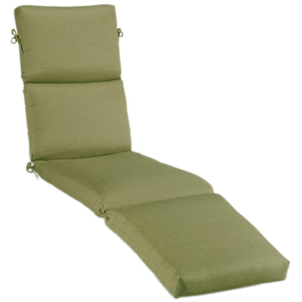 23 x 80 Outdoor Chaise Lounge Cushion in Sunbrella Cilantro