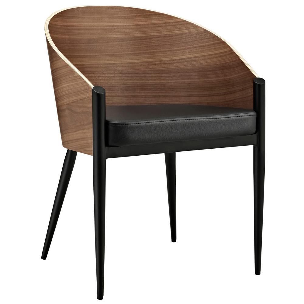 Cooper Walnut (Brown) Dining Wood Armchair