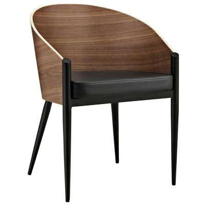 Cooper Walnut Dining Wood Armchair