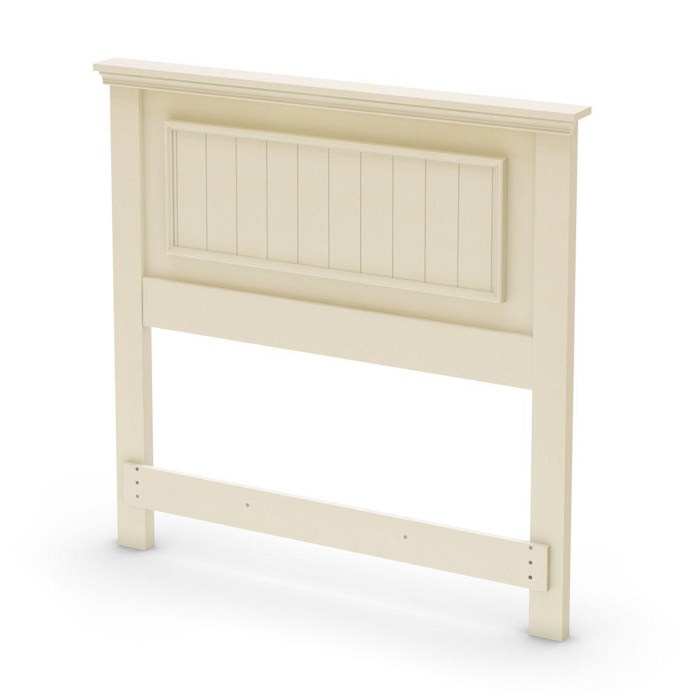 South Shore Hopedale Twin Headboard in Ivory -DISCONTINUED