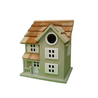 Townhouse Birdhouse (Green)