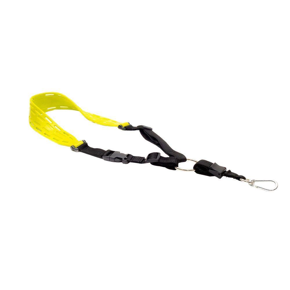 Metal Detector Sling in Yellow with Optimum Comfort