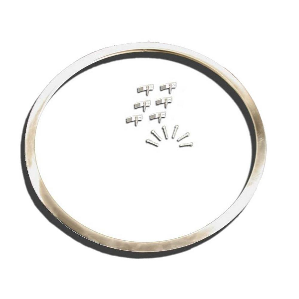 Vance Stainless Steel Sink Frame Hudee Rim for 18 in. Round Sink