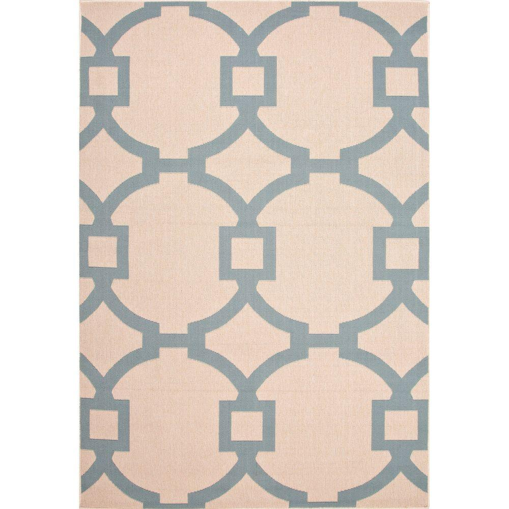 Home Decorators Collection Hand Made Birch 4 ft. x 5 ft. Border Area Rug