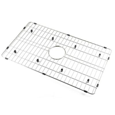 ABGR30 28 in. Grid Kitchen Sink ABF3018 in Brushed Stainless Steel