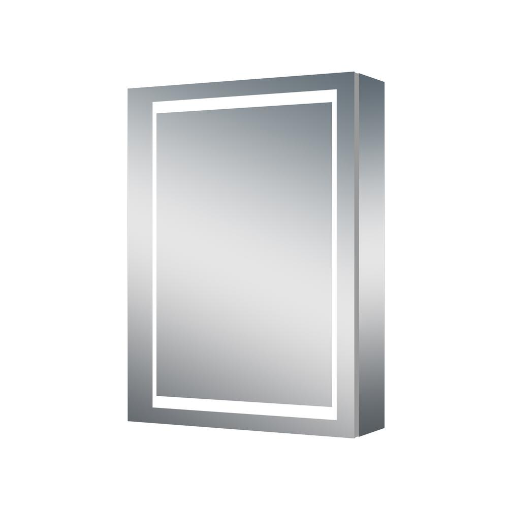 Dreamwerks 24 in. x 32 in. Wall-Mounted LED Medicine Cabinet