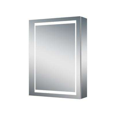 24 in. x 32 in. Wall-Mounted LED Medicine Cabinet