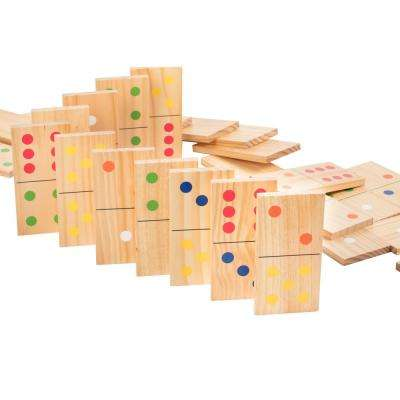 Wooden Lawn Dominoes