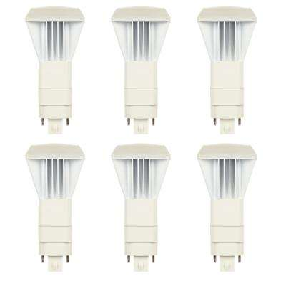26-Watt Equivalent VPL Vertical Direct Install Dimmable 3000K G24Q/GX24Q 4-Pin LED Light Bulb (6-Pack)