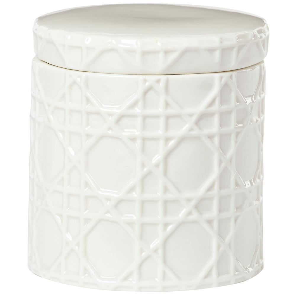 Pisa Cotton Jar in White