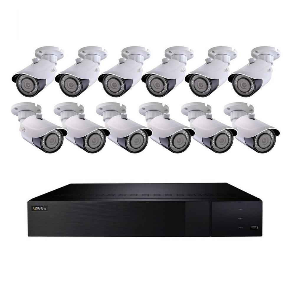 32-Channel 4K 3TB H.265 NVR Security Surveillance System with (12) 8MP IP Bullet Cameras 32-Channel 4K 3TB H.265 NVR Security Surveillance System with (12) 8MP IP Bullet Cameras