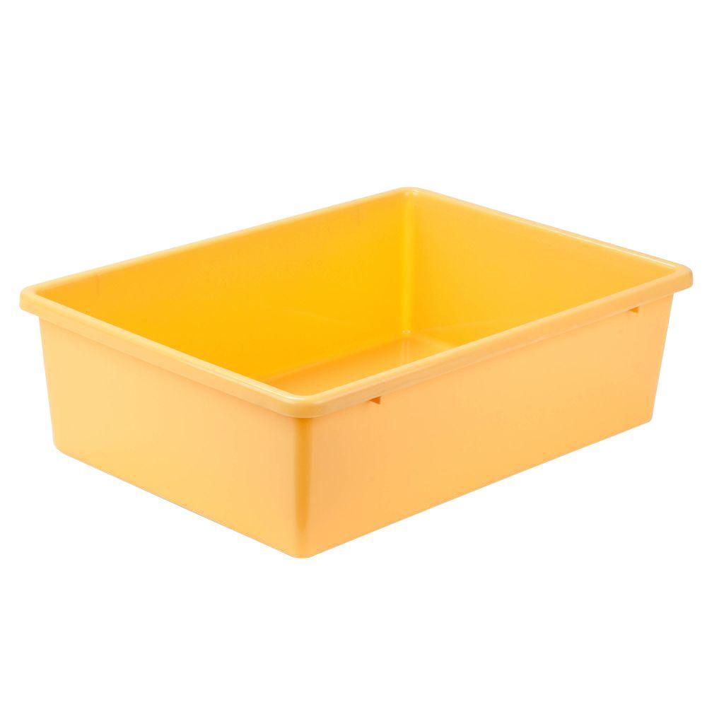 16.5-Qt. Storage Bin in Yellow
