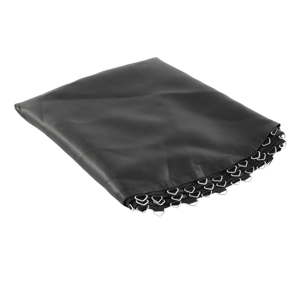 Upper Bounce Trampoline Replacement Jumping Mat, Fits for 12 ft. Round Frames with 72 V-Rings, Using 7 in. Springs-Mat Only