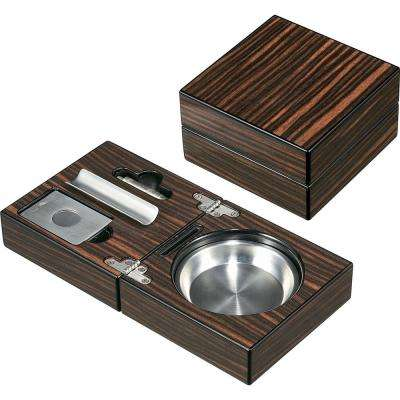 Bremen Cigar Ashtray with Cigar Cutter and Punch