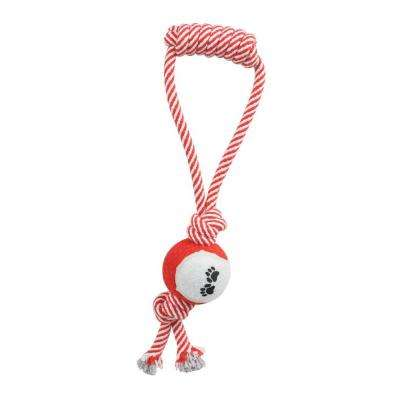 Pull Away Rope and Tennis Ball in Red
