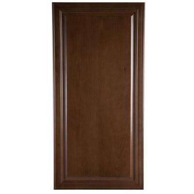 24x79.6x0.75 in. Decorative Pantry End Panel in Butterscotch