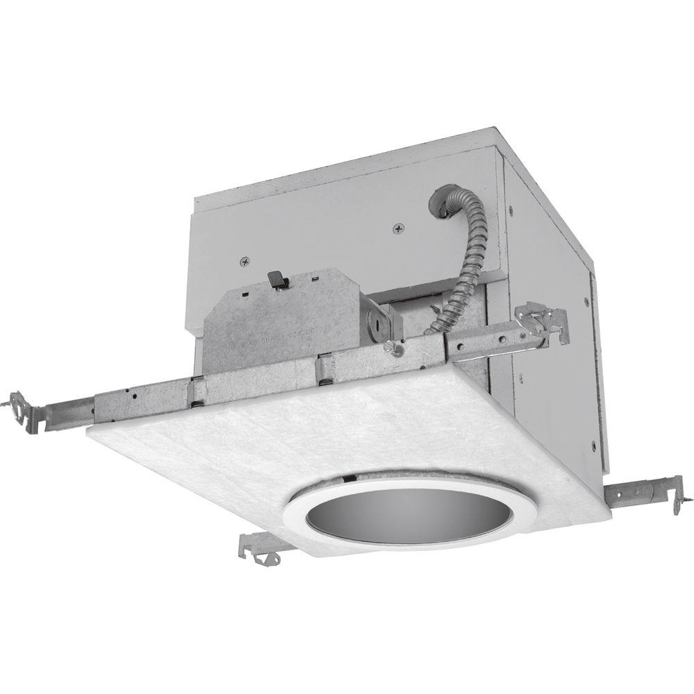 6 in. Metallic Firebox Compact Fluorescent Recessed Housing