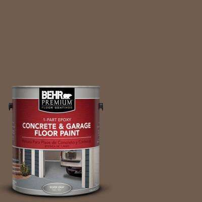 1 gal. #PFC-35 Rich Brown 1-Part Epoxy Concrete and Garage Floor Paint