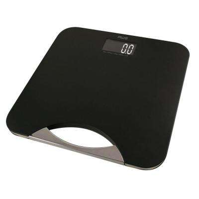 Digital Bathroom Scale in Chrome and Black