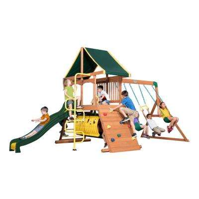 Rockin Adventure All Cedar Swing Set