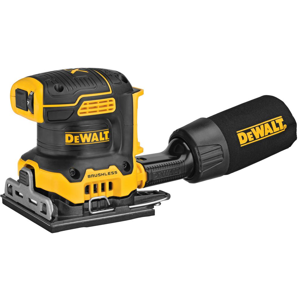 DEWALT 20-Volt MAX Cordless Brushless 1/4 Sheet Sander (Tool-Only)