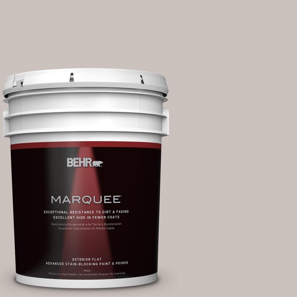 BEHR MARQUEE 5-gal. #BXC-59 Pavestone Flat Exterior Paint