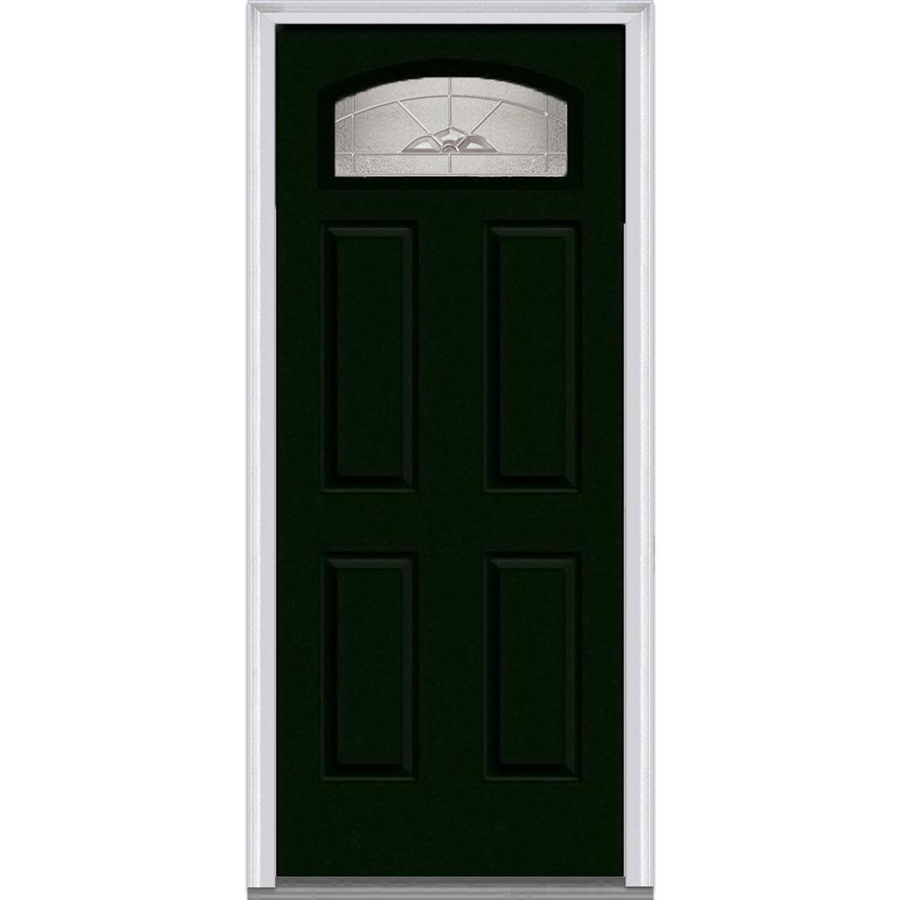 MMI Door 36 In. X 80 In. Master Nouveau Right Hand Inswing 1